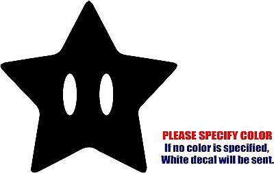 "Boo Super Mario Decal Sticker JDM Funny Vinyl Car Truck Window Bumper Laptop 9/"""