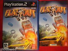 PS2 PS3 FLATOUT PLAYSTATION 2 FLATOUT PS2