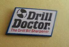 Drill Doctor The Drill Bit Sharpener Advertising Lapel Pin