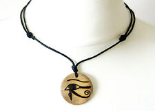 Egyptian Eye of Horus Necklace Gift Ancient Egypt Jewellery Pendant Illuminati