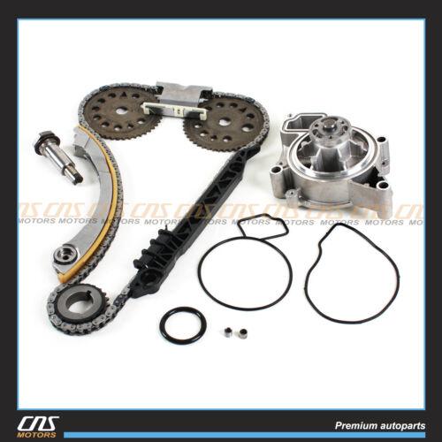 Engine Timing Chain Water Pump Kit 00-08 Chevy Saturn 2.0L 2.2L DOHC Ecotec L61