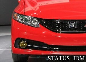 Image Is Loading 2013 Honda Civic Si Sedan Yellow Fog Light