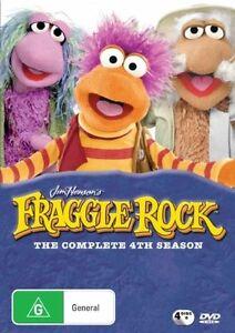 Fraggle-Rock-Season-4-DVD-2007-4-Disc-Set-New-Sealed-Region-4