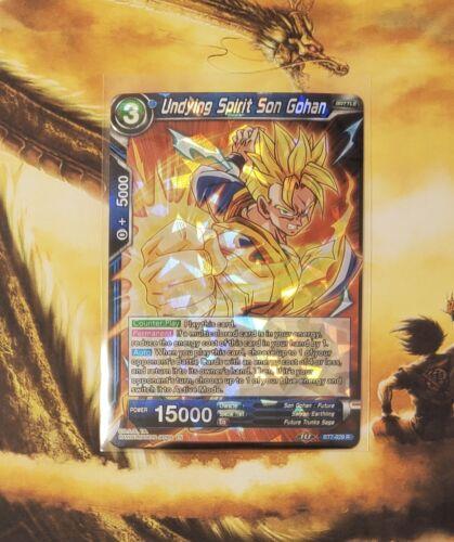 Undying Spirit Son Gohan BT7-029 R Dragon Ball Super TCG NEAR MINT