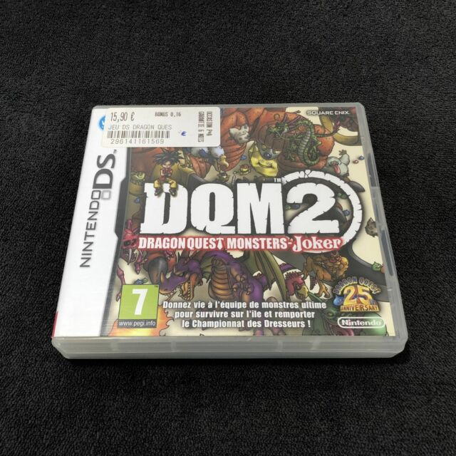 Nintendo DS Dragon Quest Monsters Joker 2 FRA Excellent état