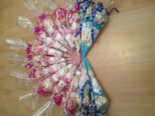 Childrens Sweets 30 Pre Filled Party Cones //Party Bags Kids Fun Sweet Cones