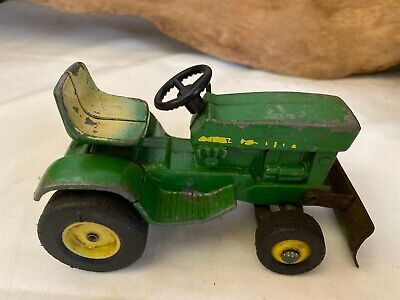 Vintage 1969 John Deere 140 Lawn Tractor With Blade Ebay