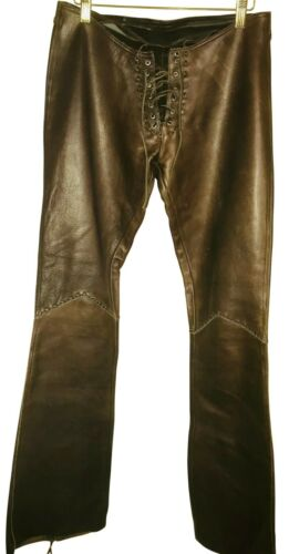 1970's Leather Pants