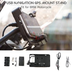 Mobile Phone Holder GPS Navigation Bracket USB Charger For HONDA CRF1000L 16-19
