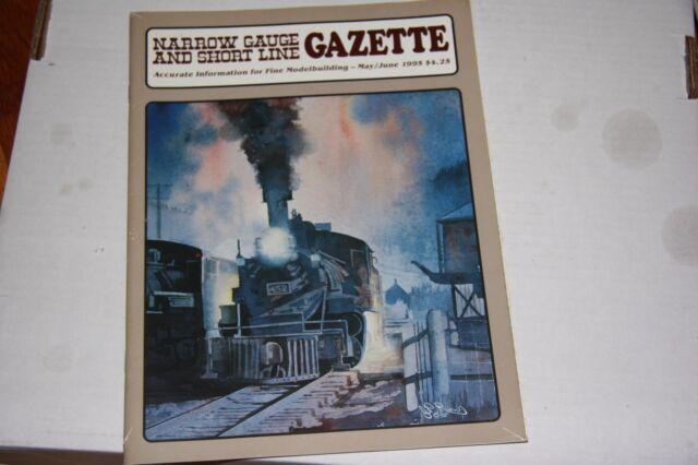NARROW GAUGE & SHORTLINE GAZETTE ISSUE 5/6 1995