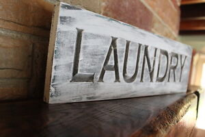 Details About Fixer Upper Decor Farmhouse Kitchen Sign Laundry Room Rustic Wood Signs Carved