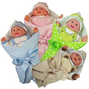 Puppenset-Hoernchen-Puppe-Puppenzubehoer-Babypuppe-Puppen-Spielzeug
