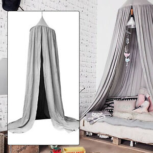 Image is loading Baby-Canopy-Bed-Netting-Mosquito-Bedding-Dome-Net- & Baby Canopy Bed Netting Mosquito Bedding Dome Net Kids Reading ...