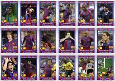 FC Barcelona European Champions League winners 2006 football trading cards