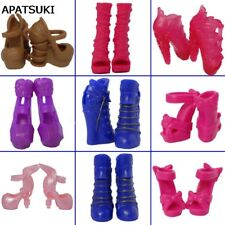 5pairs Fashion High Heel Shoes For Monster High Doll Sandals For Monster Doll