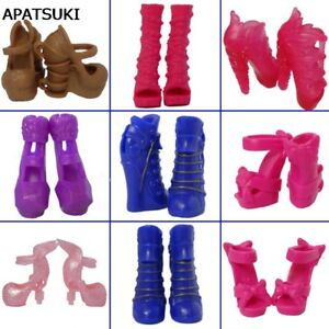 5pairs-Fashion-High-Heel-Shoes-For-Monster-High-Doll-Sandals-For-Monster-Doll