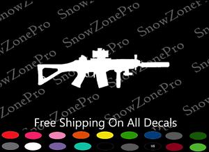 Gun DECAL 40 cal Sticker Car Window Bumper SZP DECALS Ammo Overstock Parts ss400