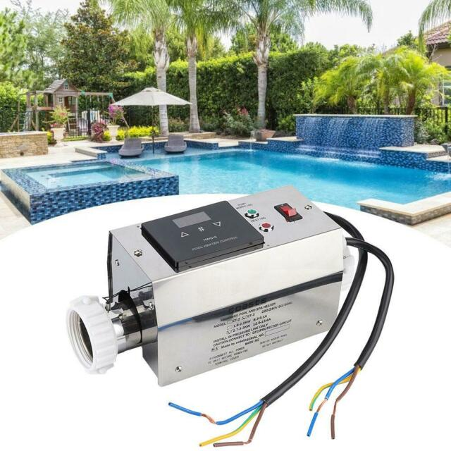 Pool Swimming Water Heater 220V 2KW