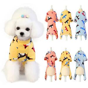 Pet-Dog-Pajamas-Puppy-Coat-Jumpsuit-Cotton-Cartoon-Pattern-Soft-Clothes-Apparel
