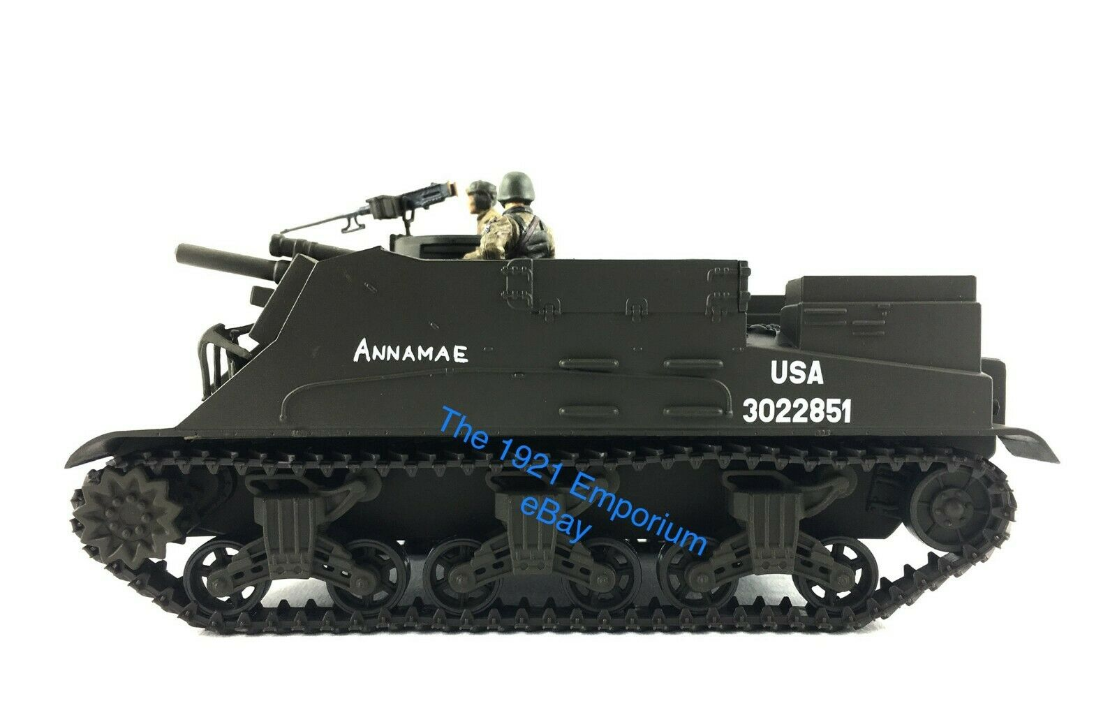 1 32 21st Century Toys Ultimate Soldier WWII U.S. Army M7 Priest Howitzer + Crew