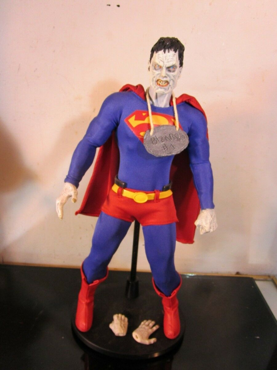Bizarro SUPERMAN 1 6 SCALE Deluxe Collector Figure DC Direct RARE