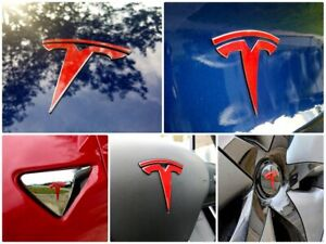Glossy-TESLA-Model-3-TM3-Logo-Decal-Bundle-Sticker-Pack-Wheels-Hood-Trunk-Frunk