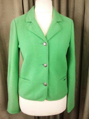New Loden Made Wool Eu38 Geiger In Pure Jacket Austria Green Ladies Uk10 dtwIqIpx