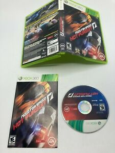 Microsoft Xbox 360 CIB COMPLETE TESTED Need for Speed Hot Pursuit
