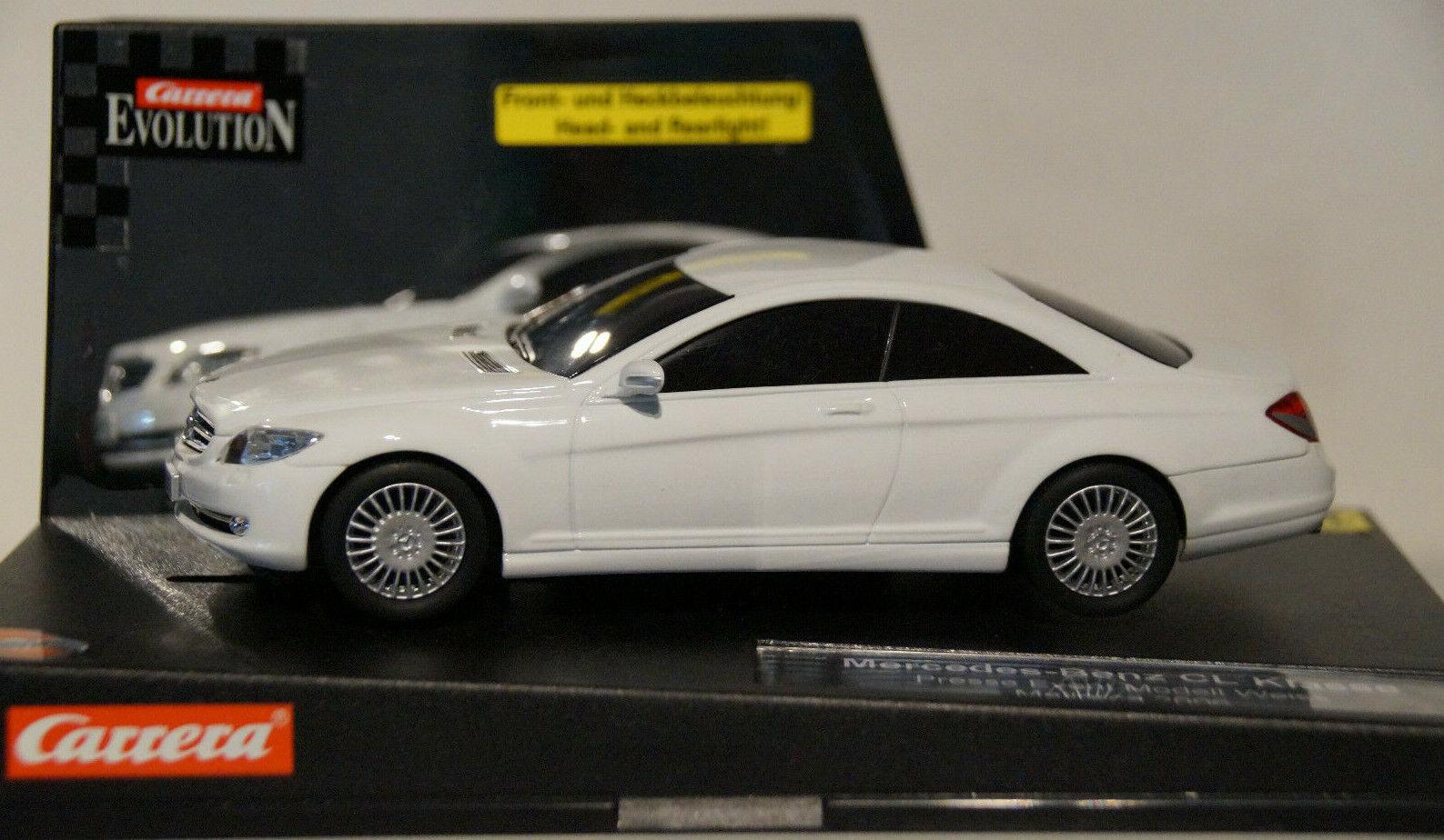 Carrera Evolution Nr. 25798 D Mercedes-Benz CL weiß Event Car 1 von 25 Stk. NEU