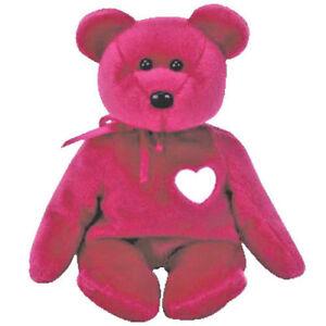 0dcd6798256 Image is loading Ty-Beanie-Baby-Bear-034-Valentina-034-New-