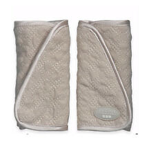 JJ Cole Plush Strap Covers- reversible strap covers  KHAKI