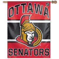 Ottawa Senators Wincraft Nhl 27x37 Banner/vertical Flag Free Ship,brand