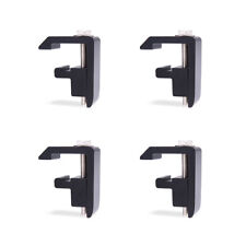 Track Mounting C Clamp For Toyota Tacomatundra Truck Capcamper Shell Black