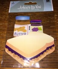 Peanut Butter and Jelly Removable Matte Sticker Sheets Set