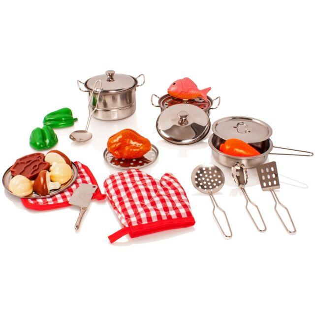 Elc Toy Pots Pans Kitchen Cooking Baking Play Food Set Food Bundle