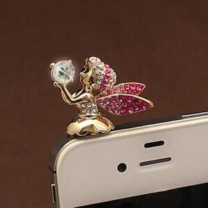 Cute-For-Phone-Earphone-Stopper-Plug-Angel-3-5mm-Anti-Dust