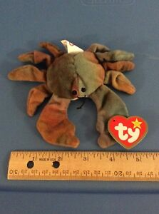 Image is loading Ty-Teenie-Beanie-Baby-Claude-The-Crab d8dd20fe546