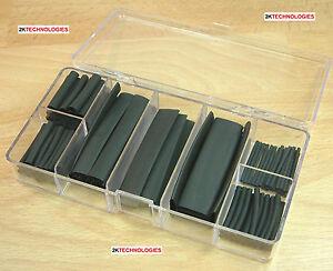 Expo 25390 1.2mm Diameter Heat Shrink 1000mm Black New Pack