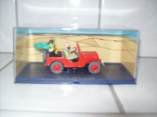 """Tim und Struppi Auto Der rote Jeep """"Im Reich des schwarzen Goldes"""