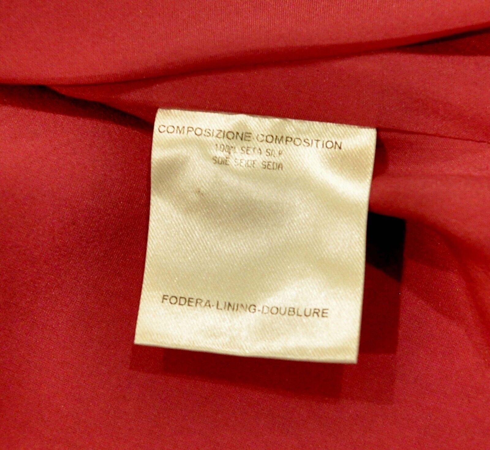 Gucci Silk Print Floral Ruffled Blouse Shirt Top … - image 8