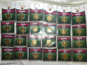 Lot-des-24-medailles-encartees-du-FC-Barcelona-Arthus-Bertrand-2012