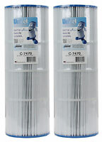 2) Unicel C-7470 Replacement Swimming Pool Filters Fc1976 Pcc80 Pentair C7470 on sale