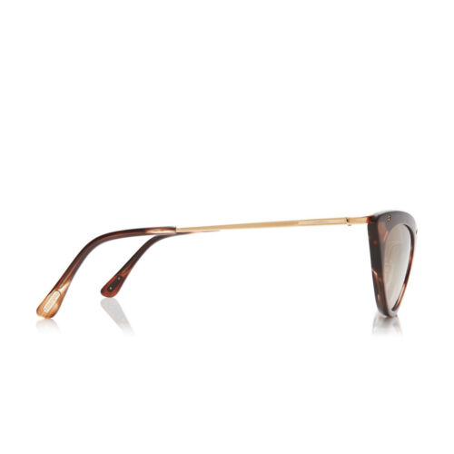 Tom FORD Cat Eye occhiali da sole da Donna Grace ft0349s 47g Gold Brown//OCHRE MIRROR