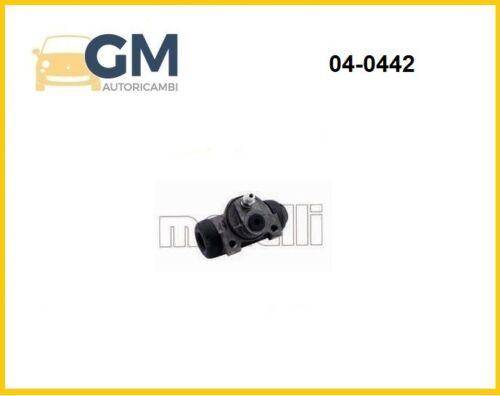 CILINDRETTO FRENO POST METELLI 04-0442 FIAT PANDA 169/_ 1.2 44KW 60HP 1242cc