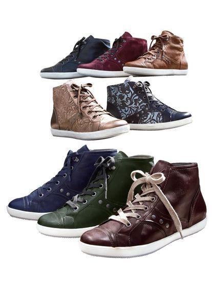 Zapatos señora zapatos botines de cuero negro Semler (36) ancho K