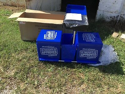 New Bud Light Dual Cooler Tailgate Grill Combo On Wheels Budweiser Store Display Ebay