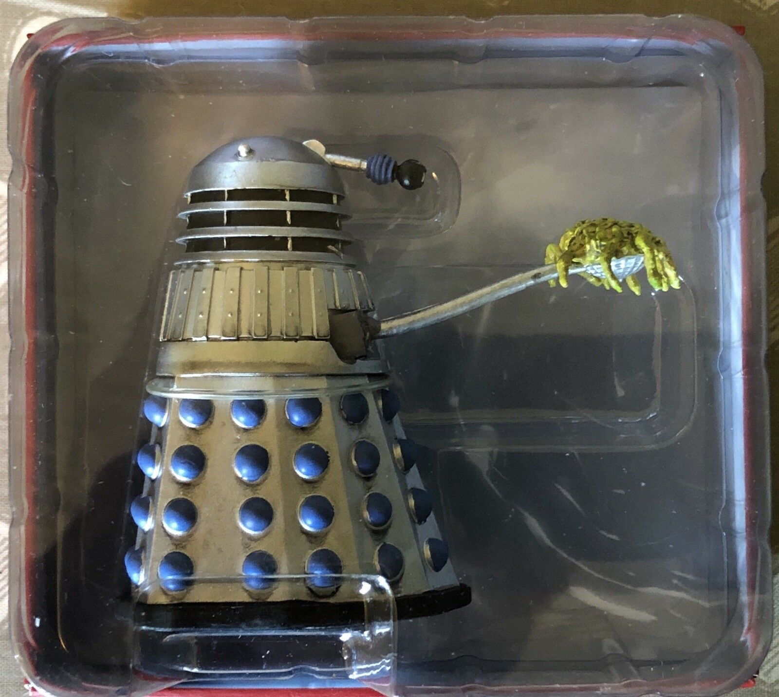 Doctor Who Statuina Rara Dalek 10 Scoop Dalek SD10 abbonato EAGLEMOSS | no mag