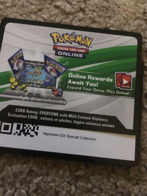 FLAREON GX EMAIL 1x Pokemon Trading Card ONLINE code ELEMENTAL POWERS TIN