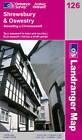 Shrewsbury and Oswestry by Ordnance Survey (Sheet map, folded, 2004)