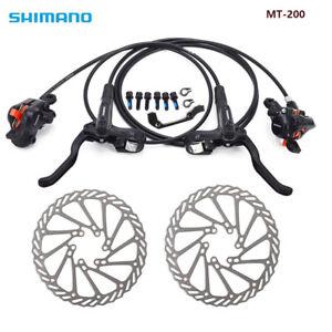 Shimano-MT200-Brake-HS1-G3-Bicycle-Bike-MTB-Hydraulic-Disc-Brake-Set-Optional